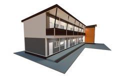 Projeto moderno do apartamento Imagens de Stock