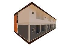 Projeto moderno do apartamento Foto de Stock