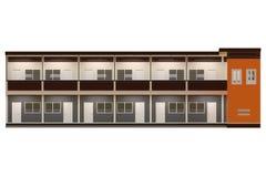 Projeto moderno do apartamento Fotografia de Stock
