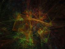 Projeto moderno do fundo digital abstrato do Fractal, energia, gráfico, fantasia Fotos de Stock Royalty Free