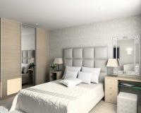 Projeto moderno do interior Imagem de Stock Royalty Free