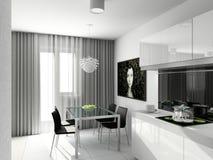 Projeto moderno do interior Fotografia de Stock