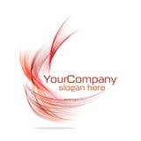 Projeto moderno do logotipo ilustração stock