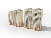 Projeto Multistory da casa Fotografia de Stock