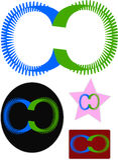 Projeto novo do logotipo do software Imagem de Stock Royalty Free