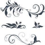 Projeto ornamentado dos motivos Fotos de Stock Royalty Free