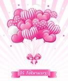 Projeto para o dia de Valentim ilustração do vetor