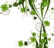 Projeto para o dia do St. Patrick Foto de Stock Royalty Free