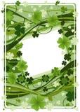 Projeto para o dia do St. Patrick Fotos de Stock