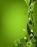 Projeto para o dia do St. Patrick Fotos de Stock Royalty Free