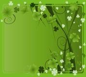 Projeto para o dia do St. Patrick Imagens de Stock