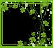 Projeto para o dia do St. Patrick Imagens de Stock Royalty Free