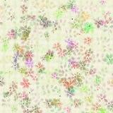 Projeto Pastel da flor no fundo de creme textured Fotografia de Stock Royalty Free