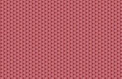 Projeto pequeno do teste padr?o do sum?rio branco vermelho extravagante ilustração royalty free