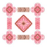 Projeto popular elegante, apropriados decorativos para cartões, convites, telas, etc. ilustração do vetor