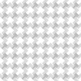 Projeto preto e branco sem emenda do teste padrão do weave ilustração royalty free