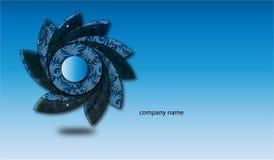 Projeto profissional do logotipo para a empresa Fotografia de Stock