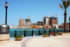 Projeto Qatar da pérola Imagem de Stock Royalty Free