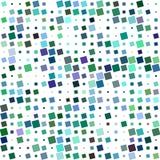 Projeto quadrado angular abstrato colorido do teste padrão ilustração royalty free