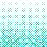 Projeto quadrado ciano do fundo do teste padrão ilustração royalty free