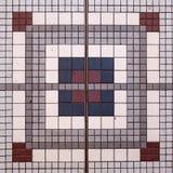 Projeto quadrado do mosaico foto de stock