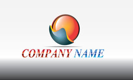 projeto redondo do símbolo do ícone Fotos de Stock
