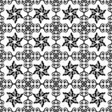 Projeto repeted Monochrome do teste padrão Imagens de Stock