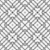 Projeto repeted Monochrome do teste padrão Fotografia de Stock Royalty Free