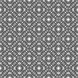 Projeto repeted Monochrome do teste padrão Foto de Stock