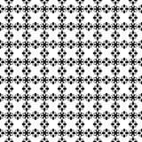 Projeto repeted Monochrome do teste padrão Fotografia de Stock