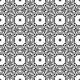 Projeto repeted sem emenda do teste padrão do vetor monocromático Imagens de Stock