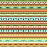 Projeto sem emenda étnico colorido do teste padrão Imagem de Stock Royalty Free