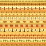 Projeto sem emenda africano étnico colorido do teste padrão Foto de Stock Royalty Free