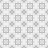 Projeto sem emenda de repetição extravagante do fundo do teste padrão do vetor do Flourish geométrico decorativo elegante da cali Imagens de Stock