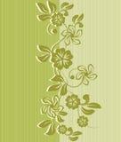 Projeto sem emenda do fundo da flor Imagens de Stock Royalty Free