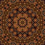 Projeto sem emenda 026 do teste padrão do khayameya Fotografia de Stock Royalty Free