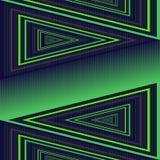 Projeto sem emenda geométrico abstrato do teste padrão do vetor Fotos de Stock