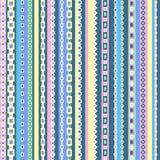 Projeto sem emenda geométrico colorido do teste padrão Imagem de Stock