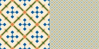 Projeto simétrico abstrato Foto de Stock
