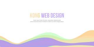 Projeto simples do encabeçamento abstrato do Web site do fundo Imagens de Stock Royalty Free