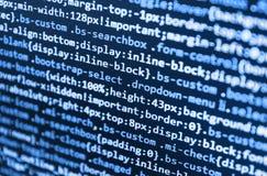 Projeto startup inovativo Tecnologia abstrata de programação do código imagem de stock