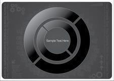 Projeto técnico escuro Imagem de Stock Royalty Free
