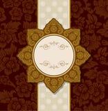 Projeto tailandês do ornamento e do teste padrão do vintage Imagens de Stock Royalty Free