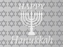 Projeto tipográfico do vetor do Hanukkah - Hanukkah feliz A ilustração stock