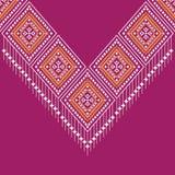 Projeto tradicional do teste padrão étnico geométrico para o fundo, tapete, papel de parede, roupa, envolvendo, Batik, tela, saro Fotografia de Stock Royalty Free