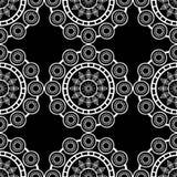 Projeto tradicional do teste padrão étnico geométrico para o fundo, tapete, papel de parede, roupa, envolvendo, Batik, tela, saro Fotos de Stock Royalty Free