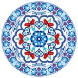 Projeto turco trinta e oito do vetor do teste padrão do otomano antigo Foto de Stock Royalty Free