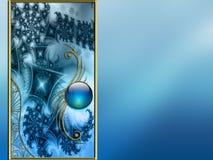 Projeto Vectorized da disposição do fractal do fundo da foto Fotos de Stock Royalty Free