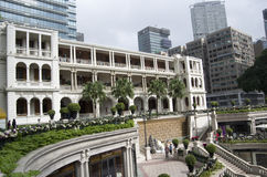 Projeto velho do jardim da arquitetura Fotografia de Stock Royalty Free