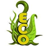 Projeto verde do eco. Conceito da ecologia Fotos de Stock